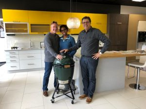 Winner of The Big Green Egg Competition